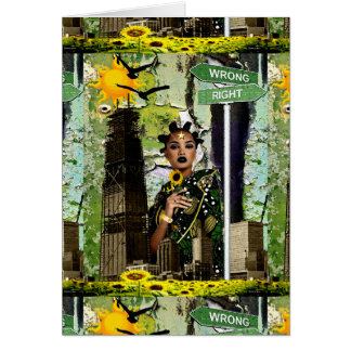 フラワーチャイルドの花型女性歌手 カード