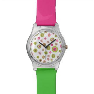 フラワーパワーの腕時計 腕時計