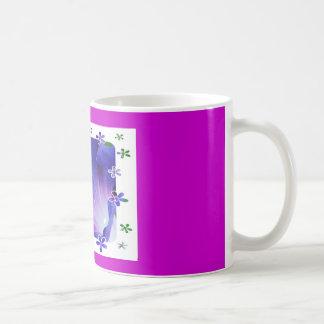 フラワーパワー コーヒーマグカップ