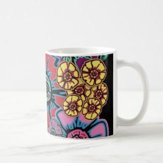 フラワーパワー#14 コーヒーマグカップ