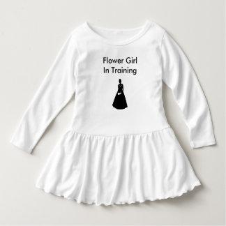 フラワー・ガールのリハーサル ドレス