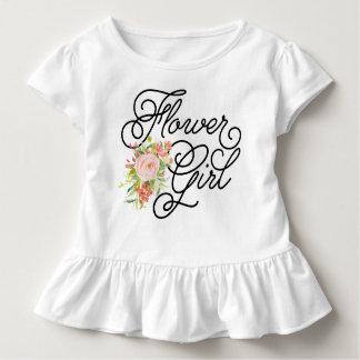フラワー・ガールの幼児のティー|の新婦付添人 トドラーTシャツ