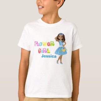フラワー・ガールのTシャツ Tシャツ