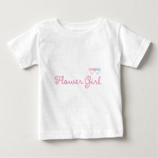 フラワー・ガール ベビーTシャツ
