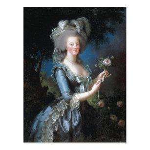 フランのMarieアントワネット概略記述の女王 ポストカード
