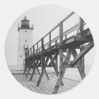 フランクフォートの灯台 ラウンドシール