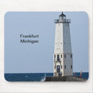 フランクフォートミシガン州の灯台 マウスパッド