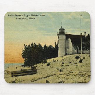 フランクフォートミシガン州の近くのポイントBetseyの灯台 マウスパッド
