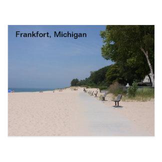 フランクフォートミシガン州のLakeshore郵便はがき ポストカード