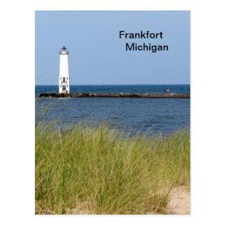 フランクフォートミシガン州 ポストカード