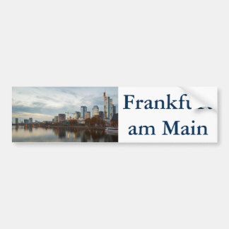 フランクフルト・アム・マインのスカイライン バンパーステッカー