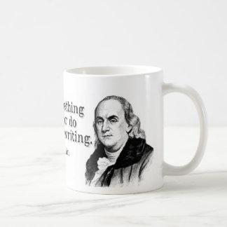 フランクリンは達成します コーヒーマグカップ