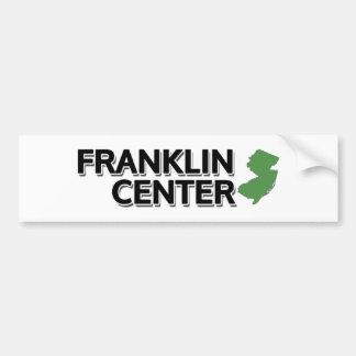 フランクリン中心、ニュージャージー バンパーステッカー