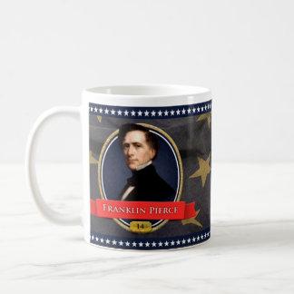 フランクリン・ピアースの歴史的マグ コーヒーマグカップ