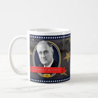フランクリン・ルーズベルトの歴史的マグ コーヒーマグカップ