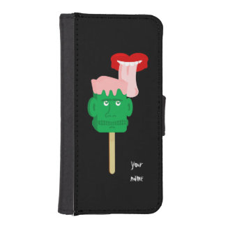 フランケンシュタインのアイスキャンディーの舌 iPhoneSE/5/5sウォレットケース