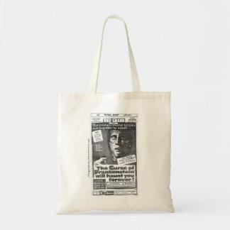 """""""フランケンシュタイン""""の1957年の広告のトートの悪態 トートバッグ"""