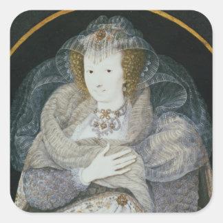 フランシスの伯爵婦人ハワードのポートレート スクエアシール
