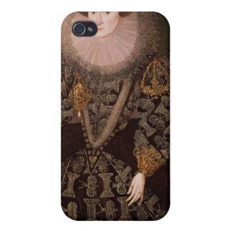 フランシスクリントンのChandos 1589年女性 iPhone 4 Cover
