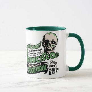 フランシスコの幽霊ショーポスター芸術のマグ マグカップ