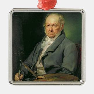 フランシスコホセde Goya 1826年(キャンバスの油) メタルオーナメント
