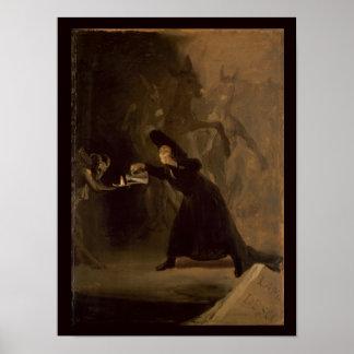 フランシスコホセde Goya y Lucientes | El Hechizado ポスター