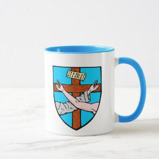 フランシスコ会のロゴのマグ マグカップ