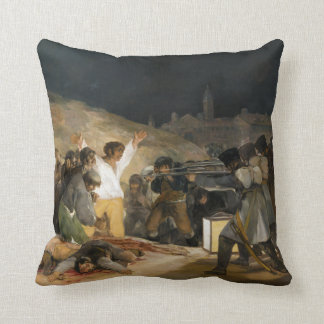 フランシスコ・デ・ゴヤ著1808年5月の三番目 クッション