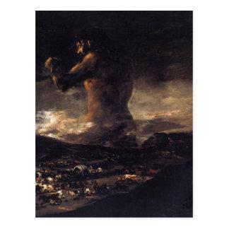 フランシスコ・デ・ゴヤ180著巨人(か大国)、 ポストカード