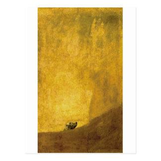 フランシスコde Goya著犬、 ポストカード