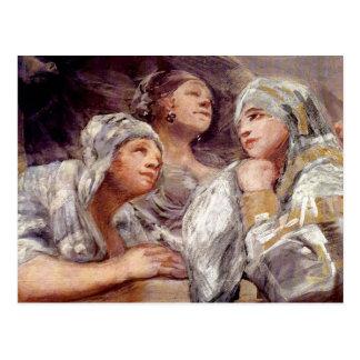 フランシスコde Goya -見物人 ポストカード