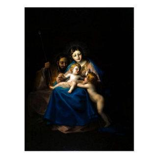 フランシスコde Goya Sagrada Familia 1788年- 1790年技術 ポストカード