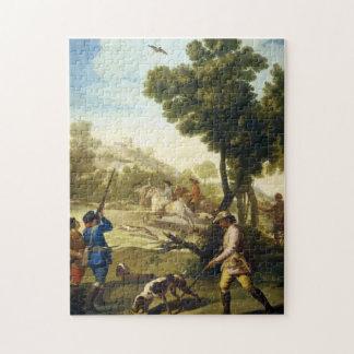 フランシスコJosé Goyaの最高傑作を捜すウズラ ジグソーパズル