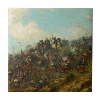 フランシスコOller著Treviñoの戦い タイル