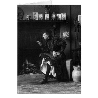 フランシスベンジャーミンジョンソンの自画像1896年 カード