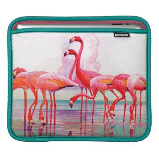 フランシス島リージェイクス著ピンクのフラミンゴ iPadスリーブ