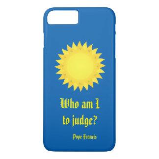 フランシス島法皇、iPhone 7のプラスの場合を判断する私である iPhone 8 Plus/7 Plusケース