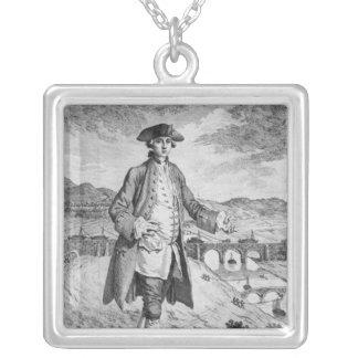 、フランシス島Egerton Bridgewaterの第3公爵 シルバープレートネックレス