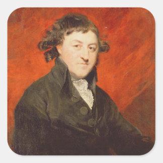フランシス島Hargrave (1741-1821年)のポートレート、1787年(oi スクエアシール