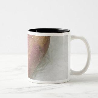フランシーヌのハート形のポテト ツートーンマグカップ