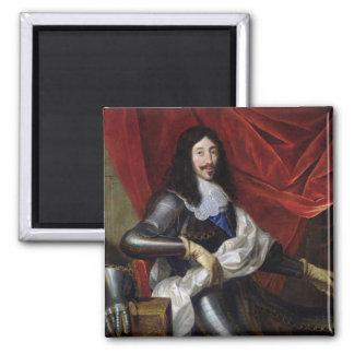 フランスおよびナバールのルイXIII王 マグネット