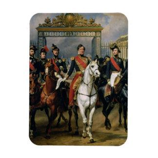 フランスおよび彼ののルイPhilippe (1773-1850年)王 マグネット