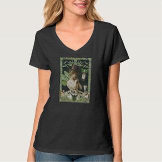 フランスのなアブサンの妖精のTシャツ Tシャツ