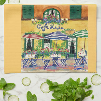 フランスのなカフェタオル キッチンタオル