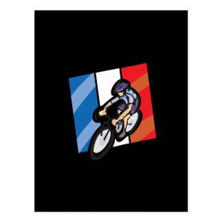 フランスのなサイクリスト2 ポストカード