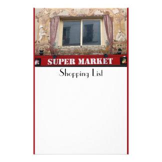フランスのなスーパーマーケットの文房具 便箋