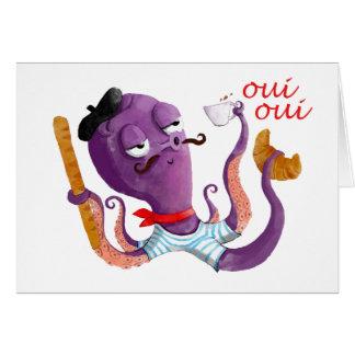 フランスのなタコ カード