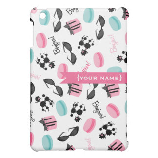 フランスのなテーマの名前入り iPad MINI CASE