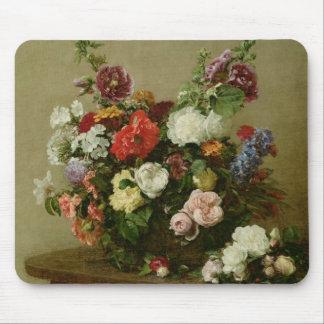 フランスのなバラおよびシャクヤク1881年 マウスパッド