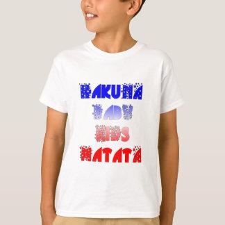 フランスのなベビーはHakuna Matata.pngをからかいます Tシャツ